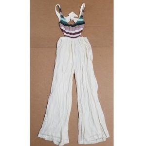 Mara Hoffman Crochet Tank Jumpsuit Women's Size M